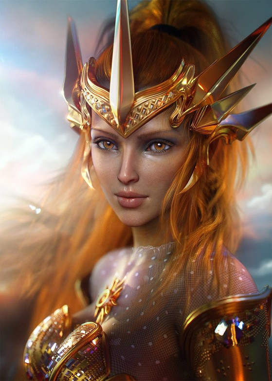Leona | Foto: SevenBees/Reprodução - League of Legends
