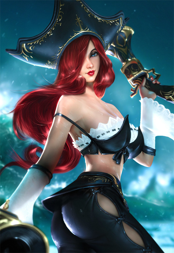 Miss Fortune | Foto: SevenBees/Reprodução - League of Legends