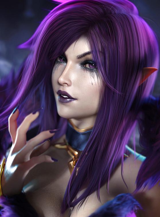 Morgana | Foto: SevenBees/Reprodução - League of Legends