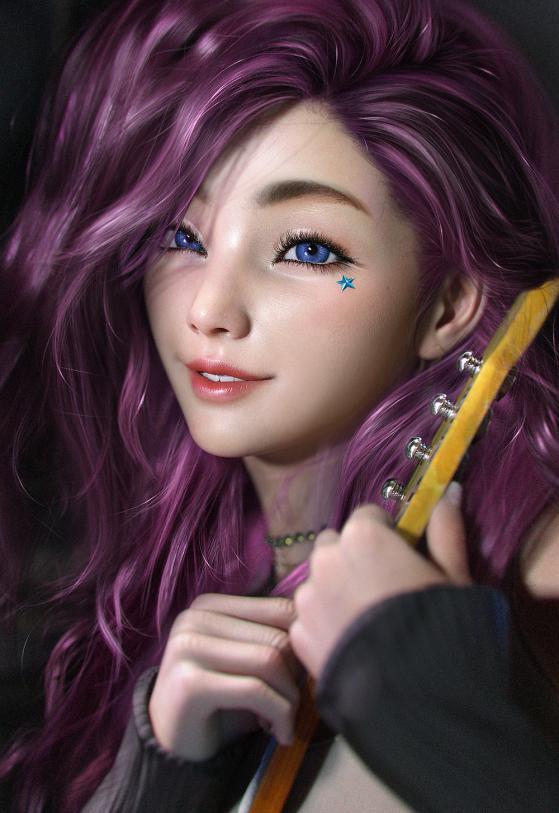Seraphine | Foto: SevenBees/Reprodução - League of Legends