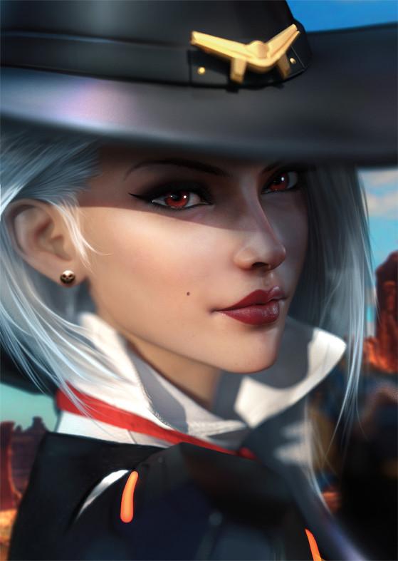Ashe de Overwatch | Foto: SevenBees/Reprodução - League of Legends
