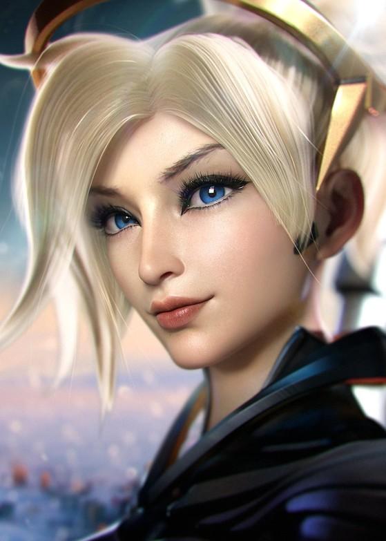 Mercy de Overwatch | Foto: SevenBees/Reprodução - League of Legends