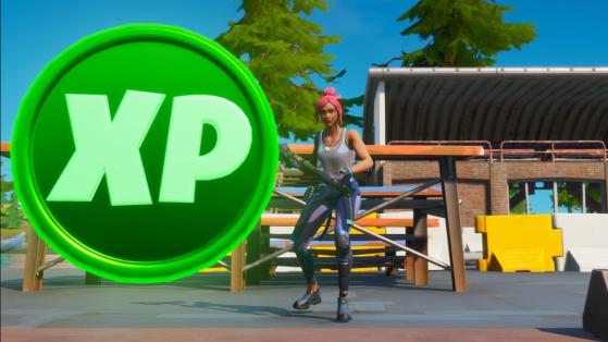 Fortnite Temporada 4: Mapa das moedas de XP
