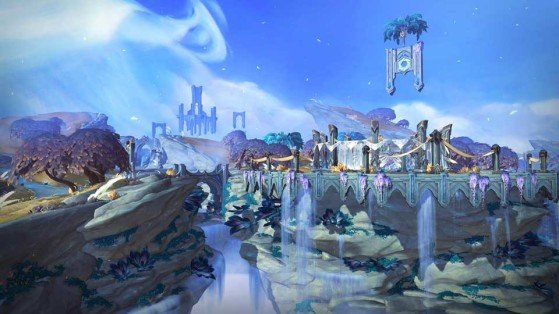 Novo mundo de WoW: Terras Sombrias | Imagem: Blizzard - World of Warcraft