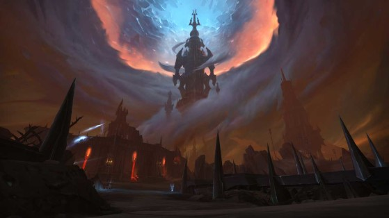 Thanator, a Torre dos Malditos | Imagem: Blizzard - World of Warcraft