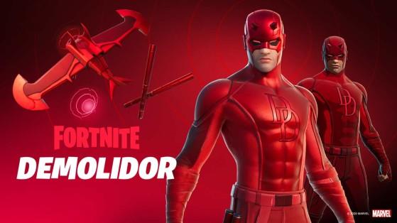 Fortnite: Loja de Itens traz skin de Demolidor em 19 de outubro