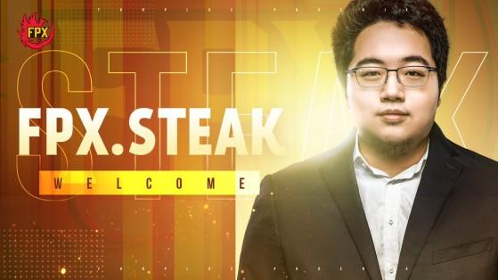 LoL: Steak é o novo técnico da FPX