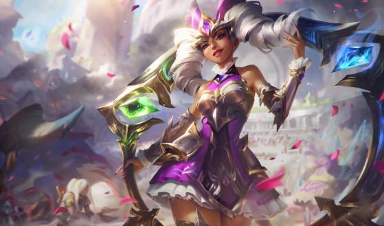 Qiyanna Rainha de Batalha   Foto: Riot Games/Reprodução - League of Legends