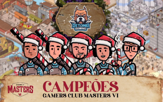 CS:GO: DETONA vence 9z Team e é campeã da GC Masters VI