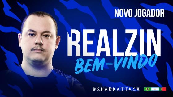 CS:GO: realziN é o novo jogador da Sharks