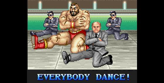 Todo mundo dança, até o presidente da União Soviética - Jogos de Luta