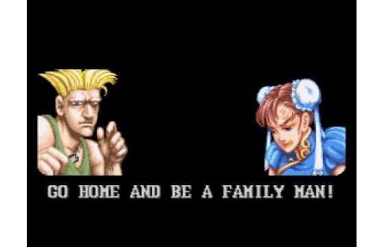 Os programadores de Street Fighter II pelo visto se esqueceram que havia uma mulher no elenco - Jogos de Luta