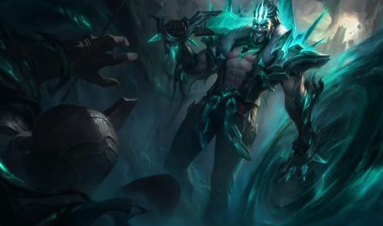Draven Destruído — Foto: Riot Games/Reprodução - League of Legends