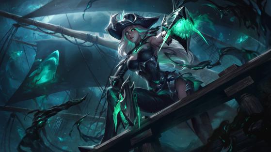 Miss Fortune Destruída — Foto: Riot Games/Reprodução - League of Legends