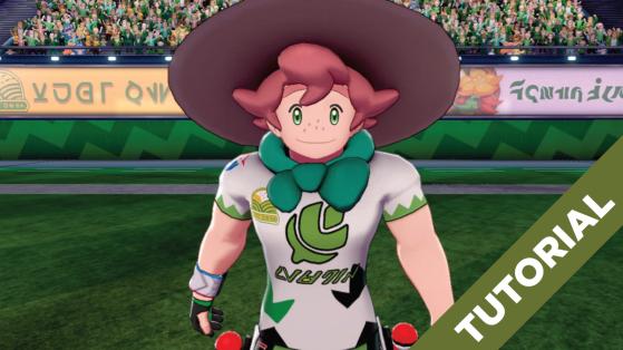 Pokémon Sword and Shield: Tutorial, Parte 6, Como Derrotar Milo, Campeão do Ginásio de Turffield