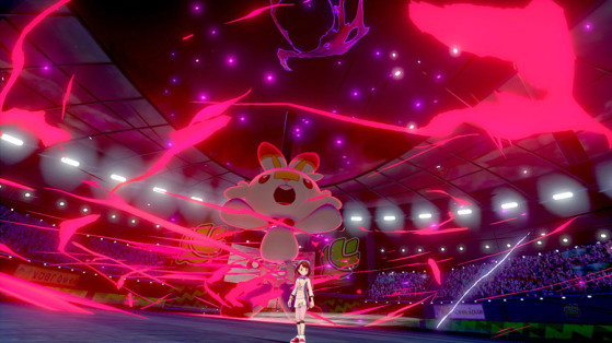 Forma Dynamax de Flambino - Pokémon Sword and Shield