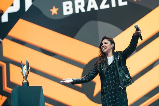 Camilotaxp comandou o palco da Pro League e do mundial de Free Fire | Foto: Garena/Reprodução - Free Fire