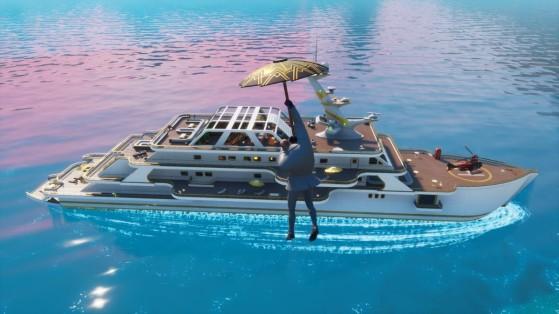 Fortnite Travessura de Miáusculo: Ache o Lago Baiacura, a Enseada dos Náufragos e o Iate