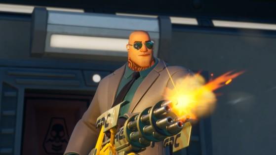 Fortnite: Cause dano a jogadores ao usar Metralhadoras Giratórias