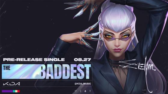 Ahri em imagem de divulgação do novo single Baddest | Foto: Riot Games/Reprodução - League of Legends