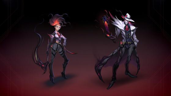 Akali e Twisted Fate Pesadelo na Cidade do Crime | Foto: Riot Games/Reprodução - League of Legends