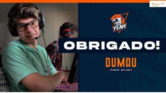 CS:GO: Yeah anuncia saída de Dumau, especulado no novo time de TACO