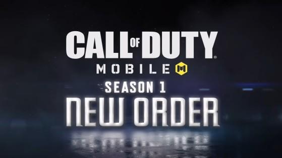 CoD Mobile: New Order, nova Temporada 1 do jogo, adiciona duas armas e um mapa inédito