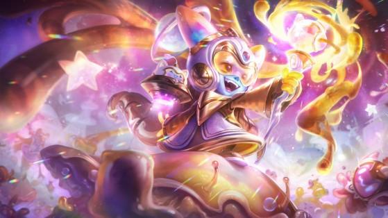Lulu Embalo no Espaço edição de Prestígio | Foto: Riot Games/Reprodução - League of Legends