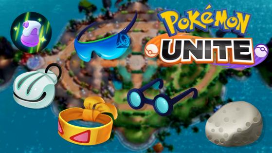 Pokémon Unite: Guia completo de itens do jogo