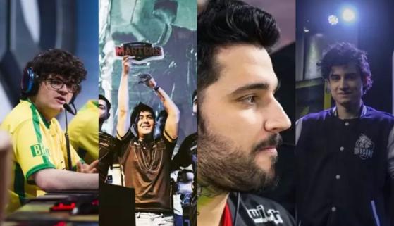 BRTT, bit, Ninext e mais: Jogadores que mudaram de game nos esports