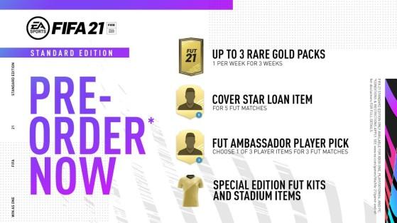 Preço de lançamento: R$ 299 ou R$ 269 com EA Play - FIFA