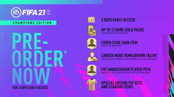 Preço de lançamento: R$ 399 ou R$ 359 com EA Play - FIFA