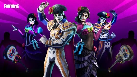 Fortnite: Loja de Itens traz de volta conjunto Muertos em 13 de outubro