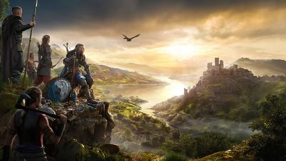 Assassin's Creed Valhalla tem mundo aberto gigantesco para o jogador explorar (Foto: Ubisoft) - Assassin's Creed Valhalla