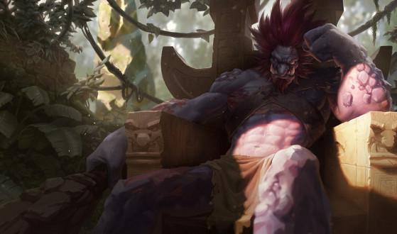 Trundle Tradicional | Imagem: Riot Games/Reprodução - League of Legends