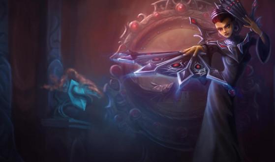 Karma antes do rework | Imagem: Riot Games/Reprodução - League of Legends