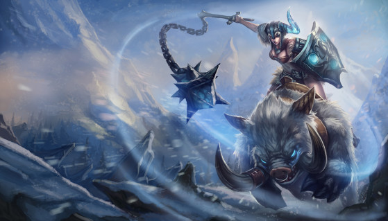 Sejuani antes do rework | Imagem: Riot Games/Reprodução - League of Legends