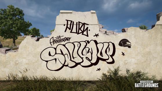 PUBG promove concurso de grafite para comemorar aniversário de 4 anos