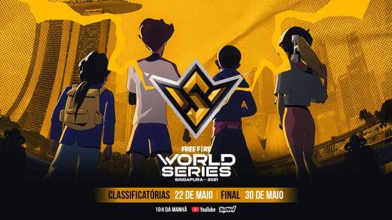 Final do Free Fire World Series 2021 acontece em 30 de maio