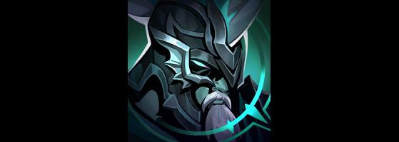 Ícone Pantheon Destruído - League of Legends