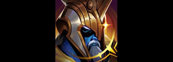Ícone Pantheon Ascendente Edição de Prestígio - League of Legends