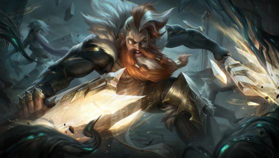 Olaf Sentinela — Foto: Riot Games/Reprodução - League of Legends