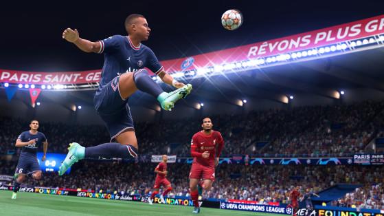 Estrelas como Mbappé terão em FIFA 22 movimentos ainda mais realistas (Foto: Divulgação/EA Sports FIFA) - FIFA 21