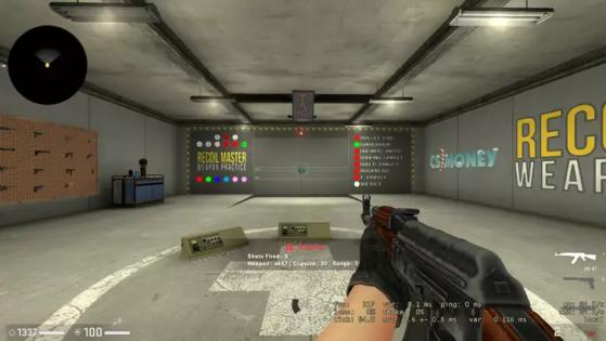 Recoil Master. Foto: Reprodução - Counter-Strike: Global Offensive