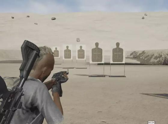 Exemplo de recuo de arma | Imagem: Reprodução/PUBG Corp. - PUBG