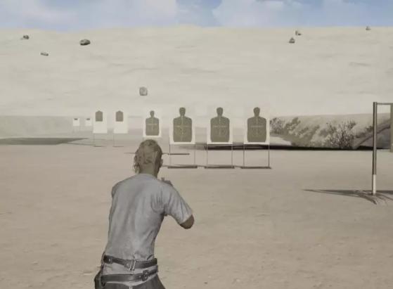 Exemplo de desvio de bala | Imagem: Reprodução/PUBG Corp. - PUBG