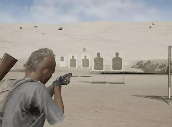 Exemplo de um tiro com e sem o Choke | Imagem: Reprodução/PUBG Corp. - PUBG