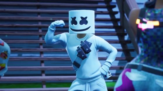 Fortnite: Cosméticos do DJ Marshmello podem voltar à loja em breve