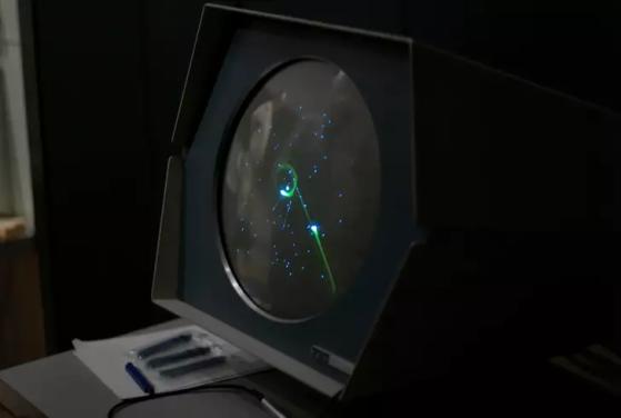 PDP-1 rodando Spacewar | Foto: Reprodução/Joi Ito - Millenium
