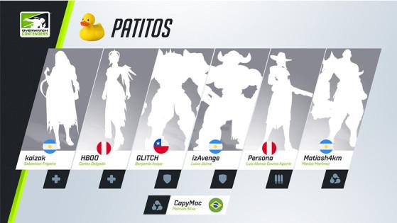 Esta será a primeira semifinal alcançada pela Patitos nesta temporada. | Imagem: Blizzard/Reprodução - Overwatch
